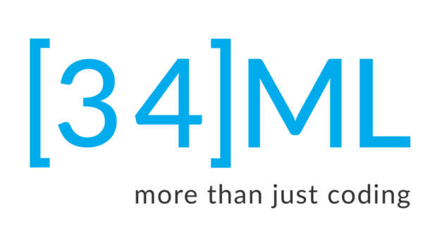 34ML Logo + Slogan
